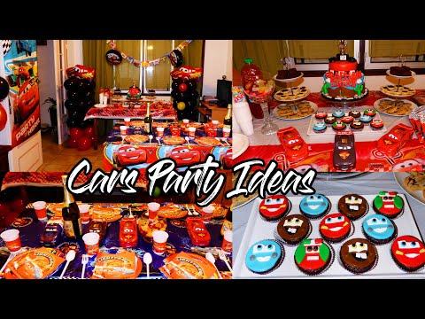 Cars Birthday Party Ideas DIY/ Party Games / Cars Party Decoration (Anniversaire Cars) Idées de jeux