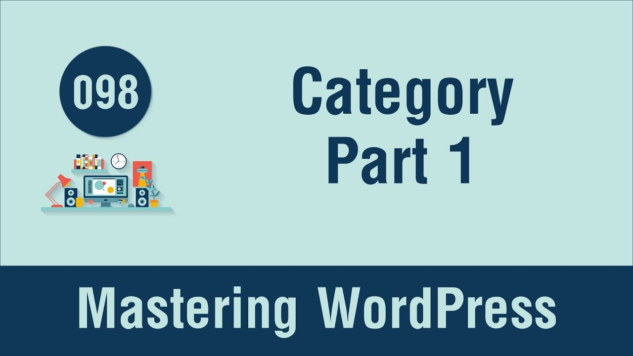 Mastering Wordpress In Arabic 098 Create Category Template Part 1