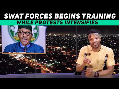 Newly created SWAT force begins training amidst protests; #EndSars (Pararan Mock News)