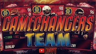 10 speed boost all gamechanger theme team   my legacy team madden mobile 16