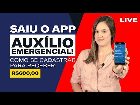 APLICATIVO CAIXA I Como Se CADASTRAR Para Receber O AUXÍLIO EMERGENCIAL De 600 Reais! (NA PRÁTICA)