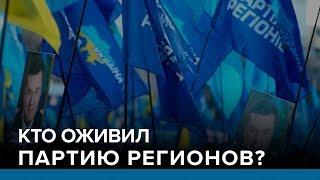 Кто оживил Партию регионов  Радио Донбасс.Реалии
