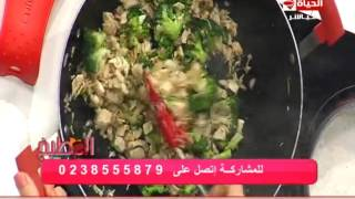 طريقة عمل الأرز بالبروكلي والدجاج