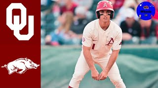 Oklahoma Vs #1 Arkansas Highlights | 2021 College Baseball Highlights