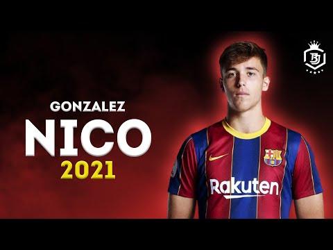 Nico Gonzalez 2021 - The Future Of Barcelona 🔥🔥 - Amazing Skills Show - HD