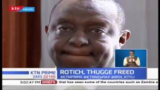CS Rotich, his PS Thugge barred from accessing office as court frees them on a Sh15M cash bail