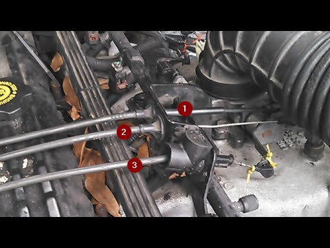 How To Adjust Your Throttle Valve Cable The Right Way (Jeep Cherokee)