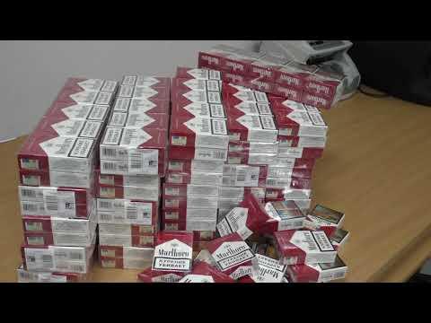 Нарейсе «Минеральные Воды- Тель-Авив» задержаны 27 блоков сигарет «Marlboro»