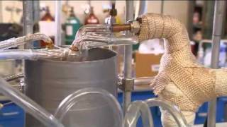 Green Gasoline Made From Wood Chips.  Bio-mass Converted To Bio-fuel.  Gas of the future.