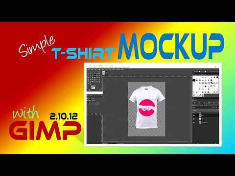 Simple T-shirt Mockup with GIMP 2.10.12 thumbnail