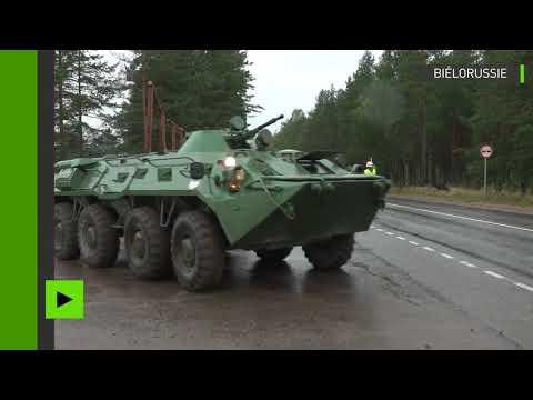 Exercices militaires conjoints entre la Russie et la Biélorussie