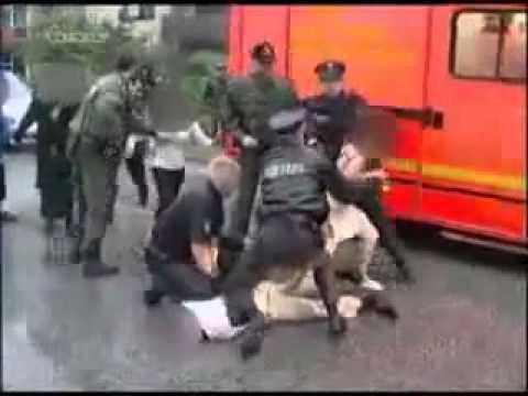 Hamburg Billstedt - Polizei wird attackiert
