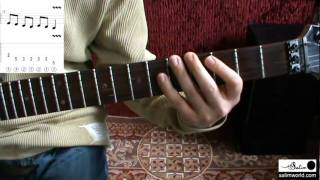 Practical Intervals in Guitar Improvisation - Across String Long Jumps - Salim Ghazi Saeedi