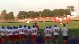 8th grade football MONSTER HIT