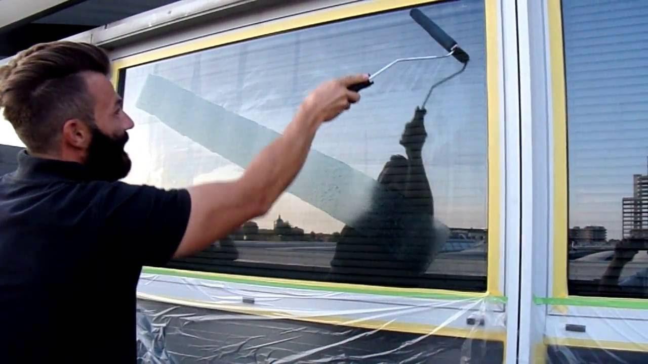 Vernice termo riflettente per vetri trasparente youtube - Pellicola riflettente per finestre ...