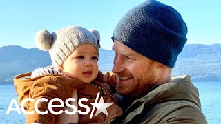 Prince Harry Grins At Baby Archie In Adorable New Photo Shared To Celebrate The New Year