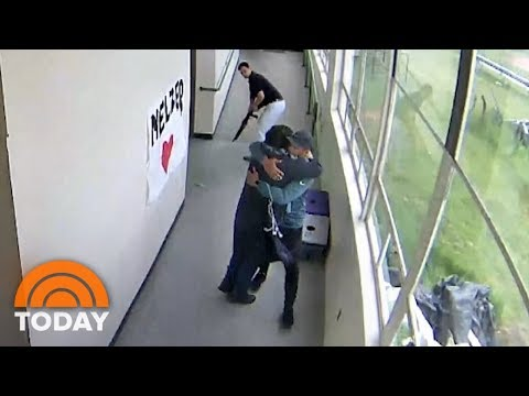 Angie Ward - See Video Of High School Coach Disarming, Then Hugging Student With Shotgun