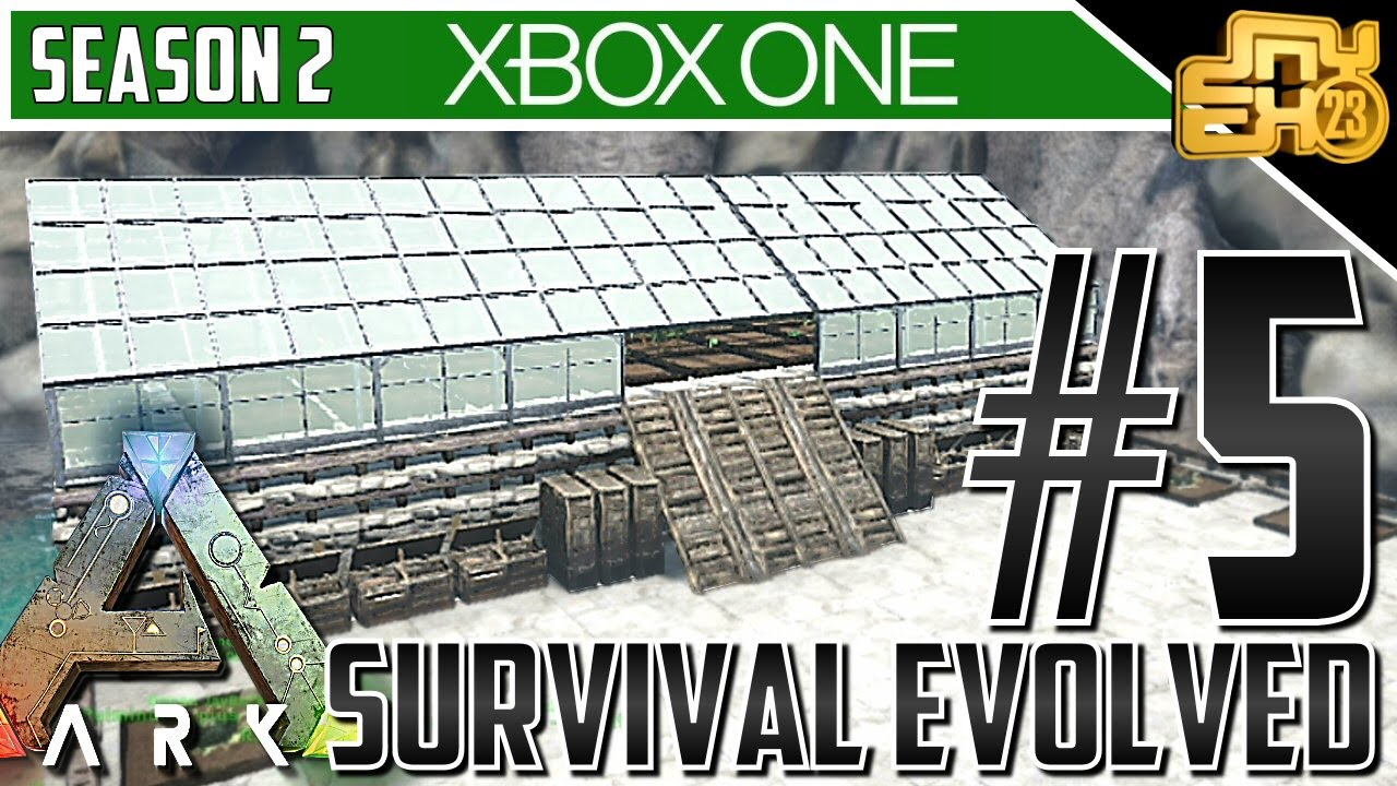 how to build a greenhouse in ark