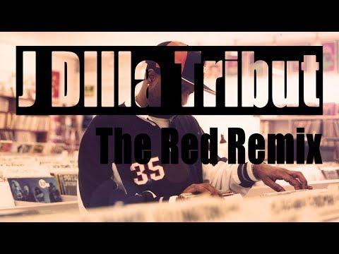 Motivational Hip Hop Instrumental | J Dilla Tribute 'The Red Remix'