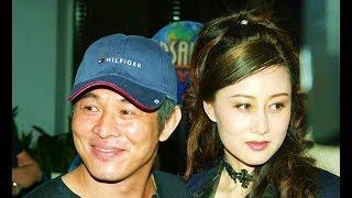 Jet Li and his wife Nina Li Chi