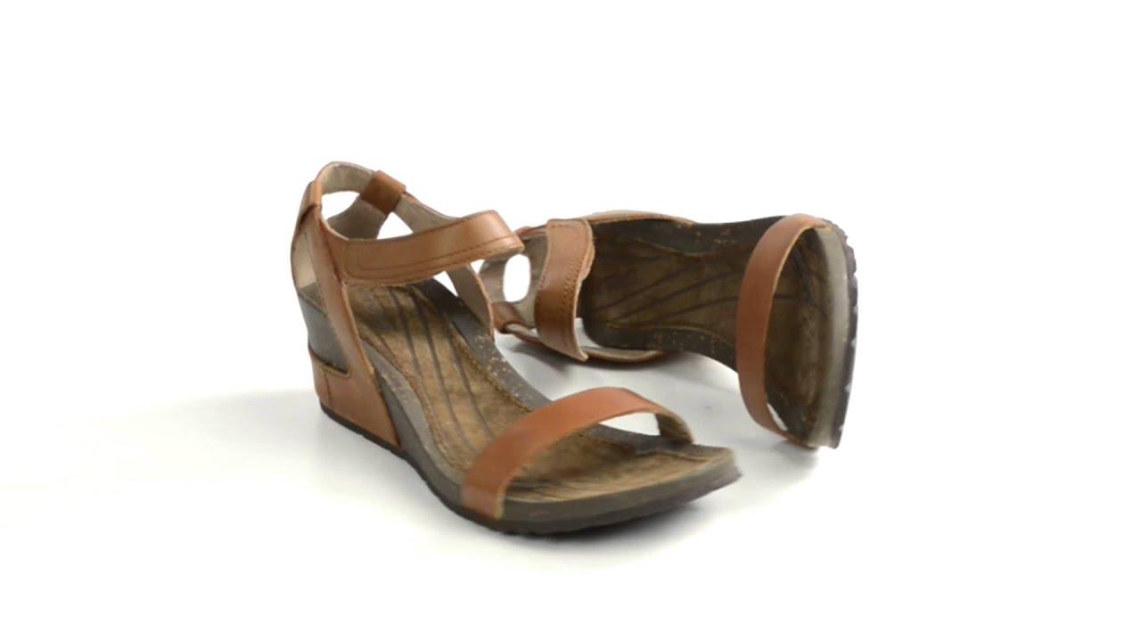 46c5463e5918 Teva Cabrillo Strap Wedge Sandals (For Women) - YouTube