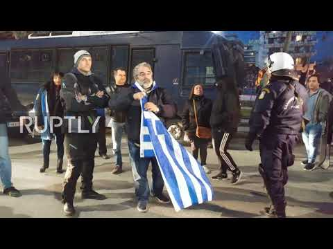 Greece: Clashes in Thessaloniki amid protests over Prespes deal