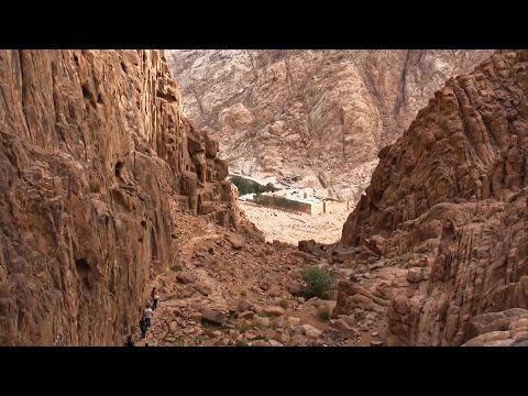 St Catherine Monastery & Mt Sinai, Egypt in HD