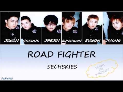 Road Fighter(로드파이터) - Sechs Kies(젝스키스)    HAN/ROM/ENG    Color Coded Lyrics