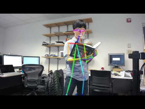OpenPose: Hand, Face, and Body Keypoint Detection in Realtime