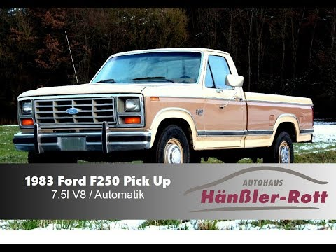 1983 Ford F250  ★ Pick Up ★ 460cui / 7,5l Big Block V8 ★ Super V8 Sound ★ Classic Car Porn