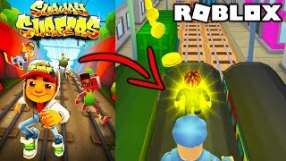 SUBWAY SURFERS W ROBLOXIE? | ROBLOX #admiros