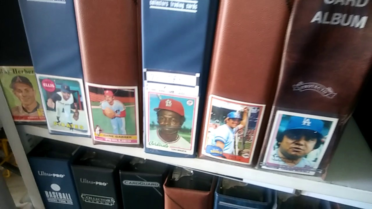 How To Properly Store Baseball Cards In Binders Albums