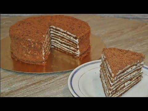 Торт на Сковороде / Duxovkasiz  Shokoladniy  to'rt