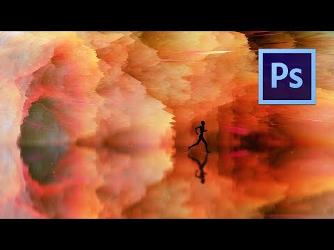 Photoshop Manipulation Tutorial with 3D Depth Maps