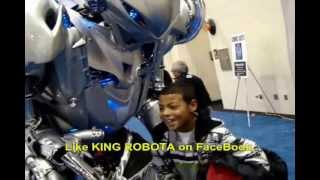 8 feet tall real steel robot in real life 2013 robot combat league