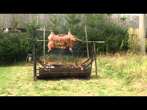 Bbq pork spit roast recipes