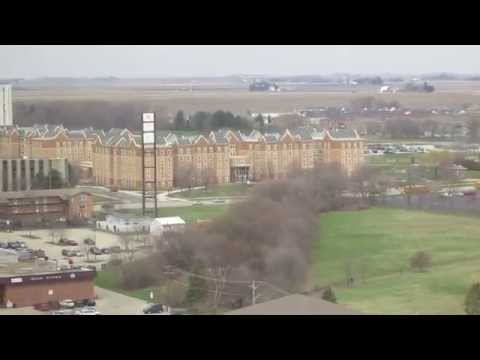 MVI 2016 Northern Illinois University Bird's Eye View from the Sky Room HSC