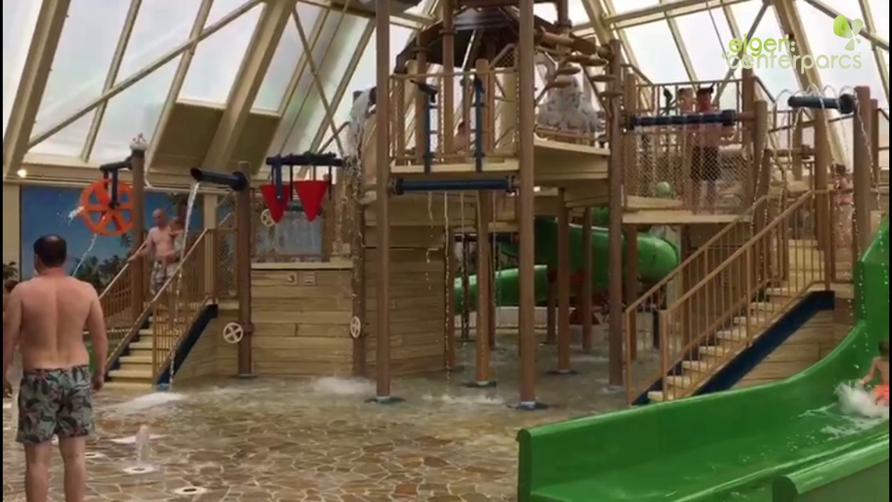 Port Zelande Zwembad : Nieuw water playhouse center parcs port zélande youtube
