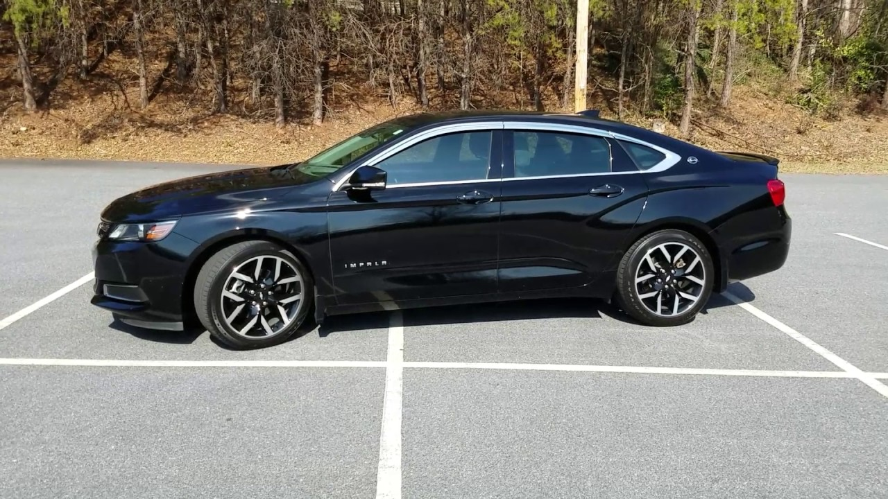 Chevy Impala 2017 >> 2015 Chevy Impala Midnight Edition w/ Chrome Vent Visors - YouTube