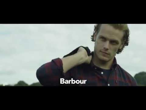6dca66bafd3 Sam Heughan - Barbour Shirt Department - YouTube