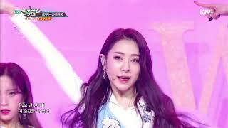 뮤직뱅크 Music Bank - 꿈꾸는 마음으로 - 우주소녀 (Dreams Come True - WJSN).20180302