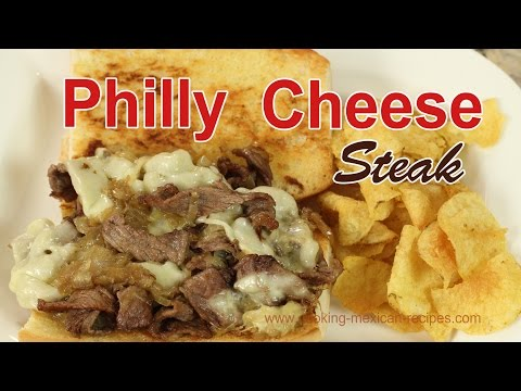 How To Make Philly Cheese Steak Recipe  | Rockin Robin Cooks