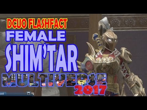 DCUO FlashFact; Female Shim