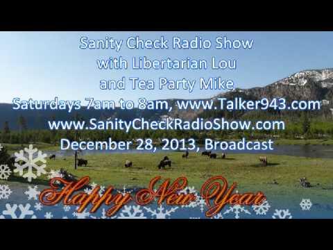 Sanity Check, December 28, 2013