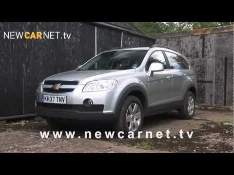 Chevrolet Captiva video trailer