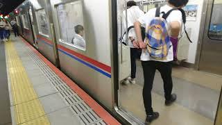 京成西船駅に近未来的な列車接近表示器がやってきた。
