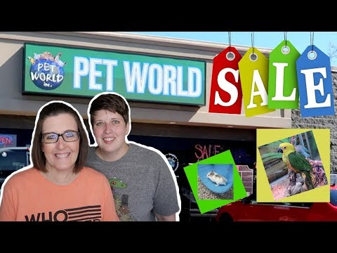 TAKING MY MOM PET SHOPPING AT MY FAVORITE STORE