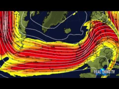 Christmas weather Storm Barbara will RAVAGE Britain