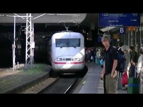 Treinen in Hamburg Hbf 2012 - Dagje door Duitsland