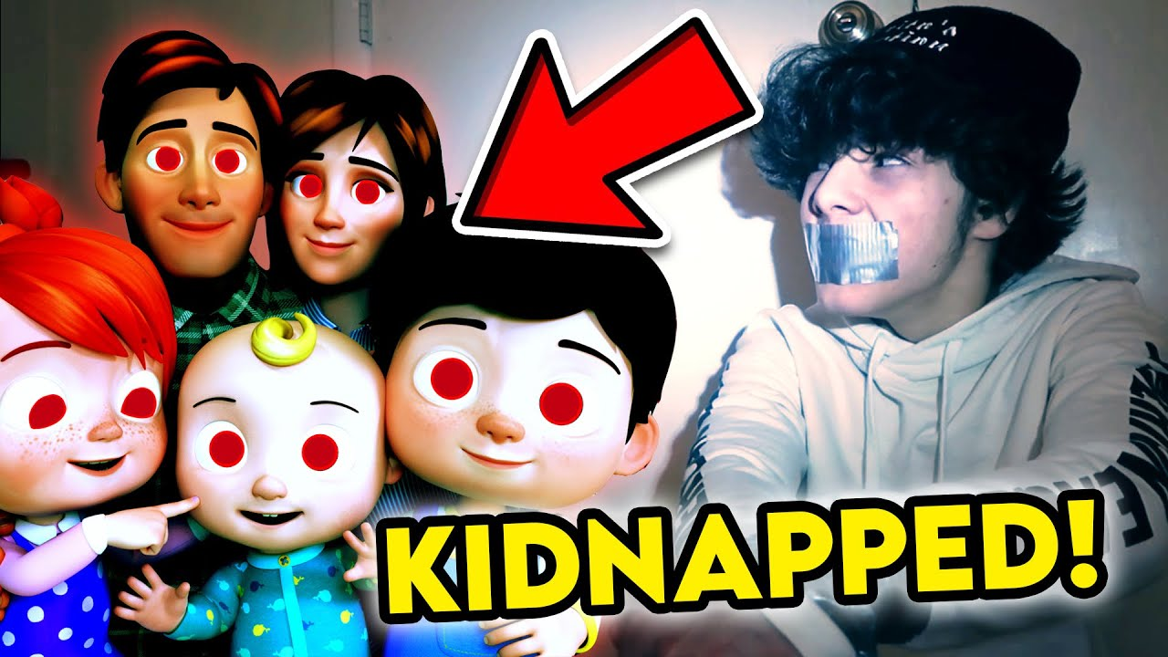 I WAS KIDNAPPED BY THE COCOMELON FAMILY!! *PLEASE HELP*
